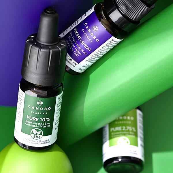 Bio CBD Öle & Sprays